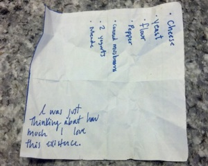 Found in a supermarket basket. Proof that it pays to be nosy.
